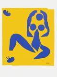 Papiers Decoupes - la Grenouille Collectable Print by Henri Matisse