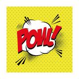 Pop Art Pow Print by  DAVIDS47