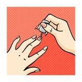 Manicure Prints by Alena Kozlova
