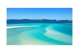 Whitehaven Beach Whitsundays Art by  SLRPhotography