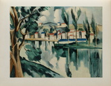 La Seine a Chatou, 1908 Collectable Print by Maurice De Vlaminck