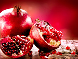 Pomegranate Fruit Prints by Subbotina Anna