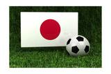 Japan Soccer Print by  badboo