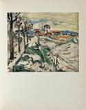 Les Coteaux de Chatou, 1907 Collectable Print by Maurice De Vlaminck