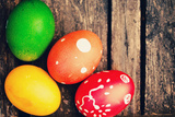 Colorful Easter Eggs Photographic Print by  Malija