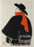 Aristide Bruant dans son cabaret II Collectable Print by Henri de Toulouse-Lautrec