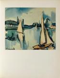 Voiliers Sur la Seine, 1908 Collectable Print by Maurice De Vlaminck