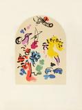 Jerusalem Windows : Joseph (Sketctch) Reproduction pour collectionneurs par Marc Chagall