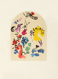 Jerusalem Windows : Joseph (Sketch) Collectable Print by Marc Chagall