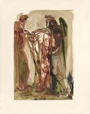 Divine Comedie, Purgatoire 11: Les orgueilleux Collectable Print by Salvador Dalí