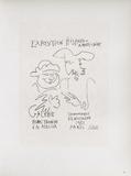 AF 1951 - Exposition Hispano-Américaine III Samlertryk af Pablo Picasso