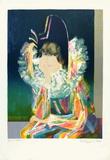 Harlequin Stampa da collezione di Paul Collomb