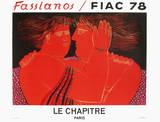 Fiac 78 Lámina coleccionable por Alexandre Fassianos