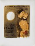 Af 1952 - Galerie Maeght Reproduction pour collectionneurs par Marc Chagall