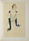 Yvette Guilbert Collectable Print by Henri de Toulouse-Lautrec