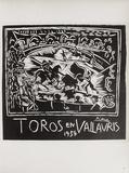 AF 1954 - Toros en Vallauris Samlertryk af Pablo Picasso