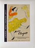 AF 1957 - Galerie Welz Samletrykk av Marc Chagall