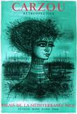 Princesse d'Azur Sammlerdruck von Jean Carzou