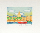 La Rochelle Collectable Print by Valérie Hermant