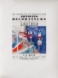AF 1939 - Salon De La S.A.D. Samlertryk af Raoul Dufy