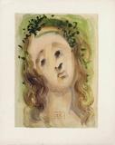 Divine Comedie, Purgatoire 10: Le visage de Virgile Collectable Print by Salvador Dalí