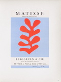 Af 1953 - Berggruen Et Cie Reproductions de collection par Henri Matisse