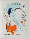 AF 1957 - Kunsthalle Berne Collectable Print by Marc Chagall