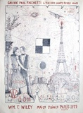 Paris Exhibiiton Collectable Print by William T. Wiley