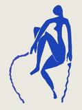Papiers Découpés : Nu Bleu Sauteuse De Corde Sammlerdrucke von Henri Matisse
