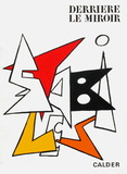 Derrier le Mirroir, no. 141: Stabiles I Collectable Print by Alexander Calder