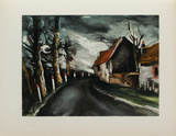 1953 - La Route De Longny Collectable Print by Maurice De Vlaminck