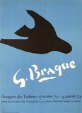 Expo Orangerie Des Tuileries Stampe da collezione di Georges Braque