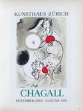 AF 1951 - Kunsthaus Zürich Collectable Print by Marc Chagall