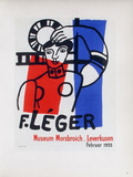 AF 1955 - Musée Morsbroich Collectable Print by Fernand Leger