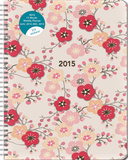 Cherry Blossoms Large Flexi Planner - 2015 Engagement Calendar Calendars