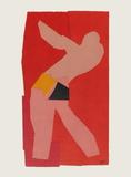 Papiers Découpés : Le Golfeur Samletrykk av Henri Matisse