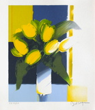 Bouquet de Fleurs Jaunes Limited Edition by Emile Bellet