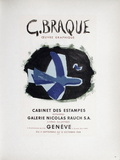 AF 1958 - Cabinet Des Estampes Collectable Print by Georges Braque