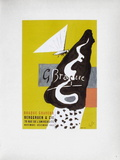 AF 1953 - Galerie Berggruen Collectable Print by Georges Braque