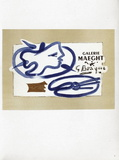 AF 1950 - Galerie Maeght Collectable Print by Georges Braque