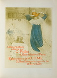 Elles II Collectable Print by Henri de Toulouse-Lautrec