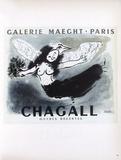 AF 1950 - Galerie Maeght Samlertryk af Marc Chagall