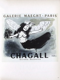 AF 1950 - Galerie Maeght Collectable Print by Marc Chagall