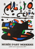 Miro Ceret Collectable Print by Joan Miró