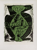 AF 1953 - Exposition Vallauris Sammlerdrucke von Pablo Picasso