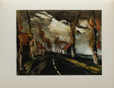 1953 - La Route De Mortagne Collectable Print by Maurice De Vlaminck