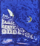 Paris La Nuit III Collectable Print by  Fujisawa