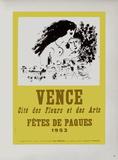 AF 1953 - Vence Fêtes De Pâques Samlertryk af Marc Chagall