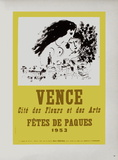 AF 1953 - Vence Fêtes De Pâques Collectable Print by Marc Chagall