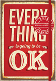 Everything Is OK Deconstructed Planner - 2015 Engagement Calendar Calendars